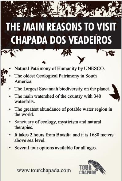 The Main Reasons to Visit Chapada dos Veadeiros