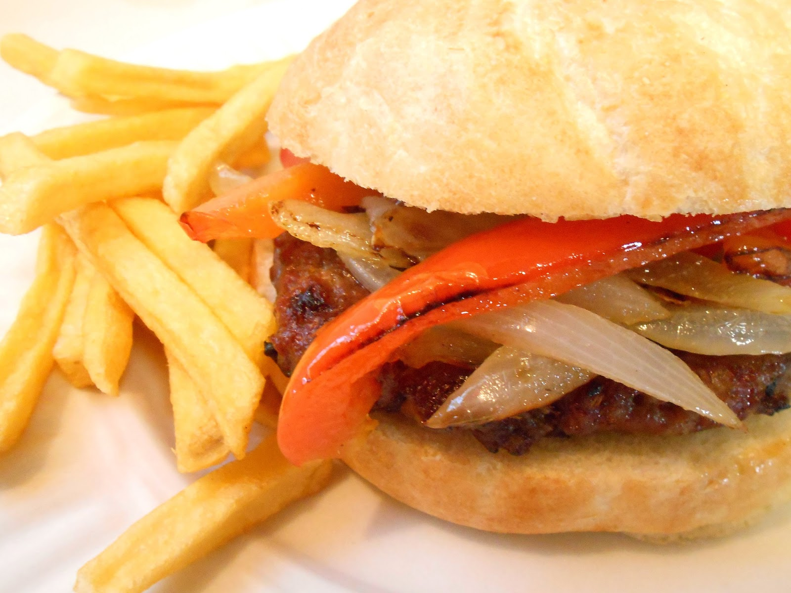 My Kind of Cooking: Grilled Italian Sausage Sandwiches