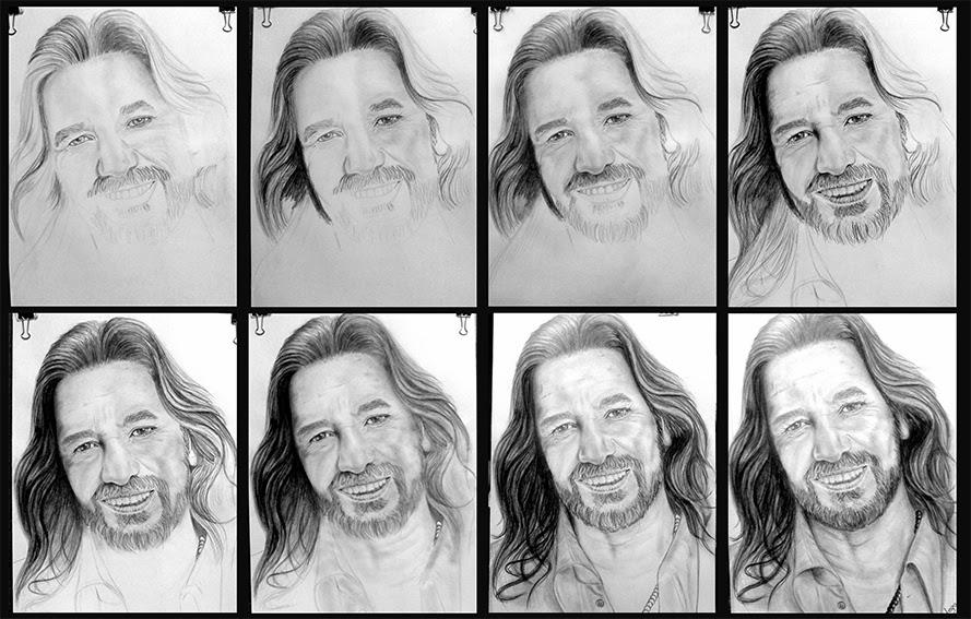 Retratos realistas y dibujos: Retrato realista de Marco Antonio ...