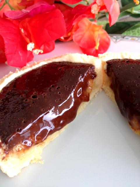 tarte au chocolat bananes cyril lignac pâte sablée aux amandes