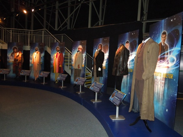 Original Doctor Who costumes
