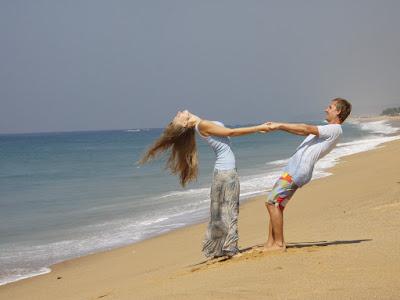 fotos de enamorados en la playa