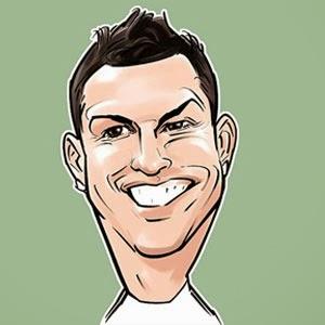 Gambar Karikatur Cristiano Ronaldo Piala Dunia 2014