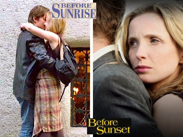 before sunrise and before sunset