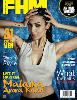 Malaika Arora Khan features on FHM India Magazine for September 2015