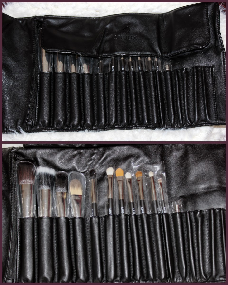 Luuux Brush Set Review Limited Edition