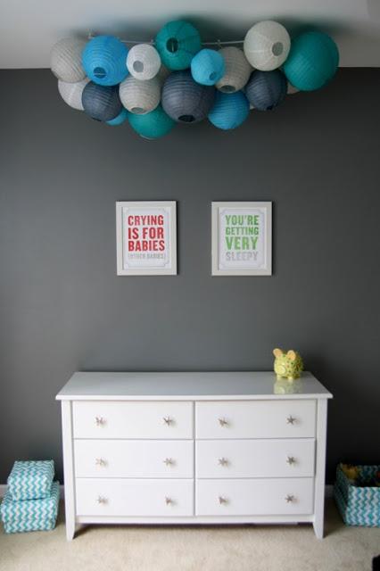 gris con AZUL Combinar o cinza  com AZUL quarto bebê grey and blue nursery