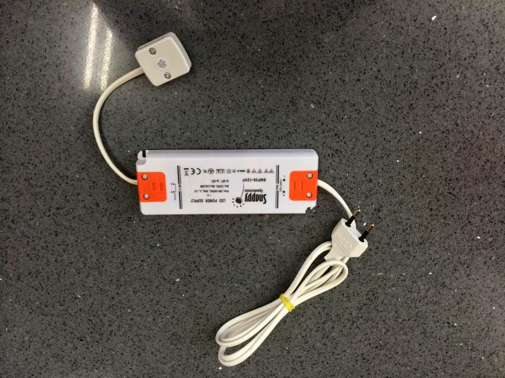 transformador LED emiled luz cocina 4 vías