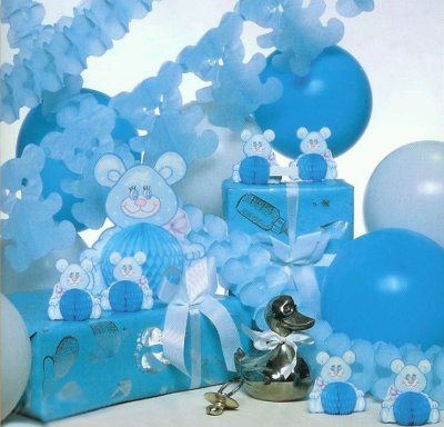 MyTotalNet.com: Baby Shower Decorations for boys