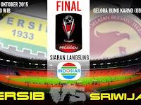 Harga Tiket Final Piala Presiden 2015 Tempat Jakarta