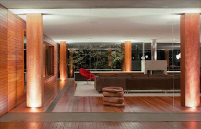 Minimalist Living Room Design Lighting
