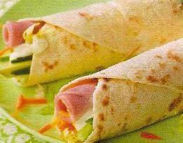 Receta Deliciosa Rollitos de Pavo
