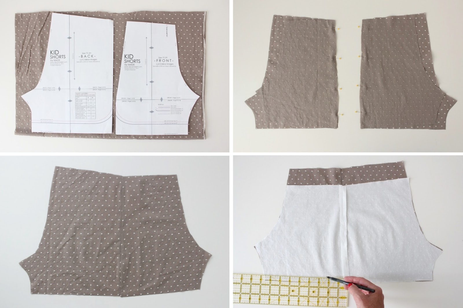 How to sew shorts 67