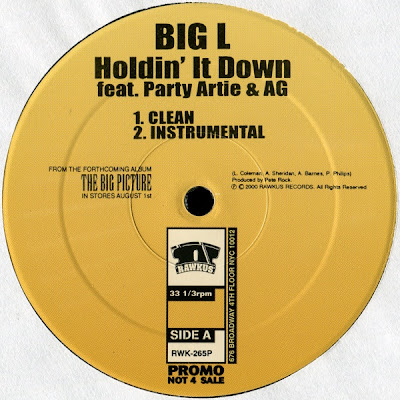 Big L – Holdin' It Down (Original Version) (VLS) (2000) (320 kbps)