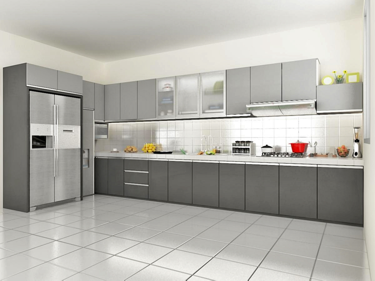 650 all new kitchen set modern kitchen set for Kitchen set 2015