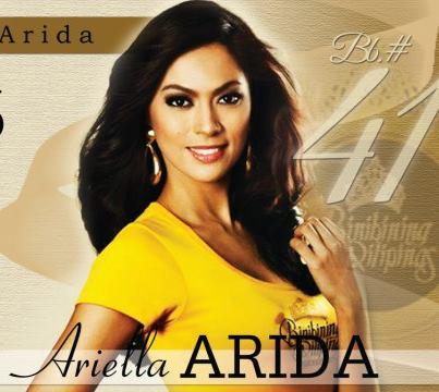 Binibining pilipinas 2013 winner is ariella arida barako for Arienti arreda