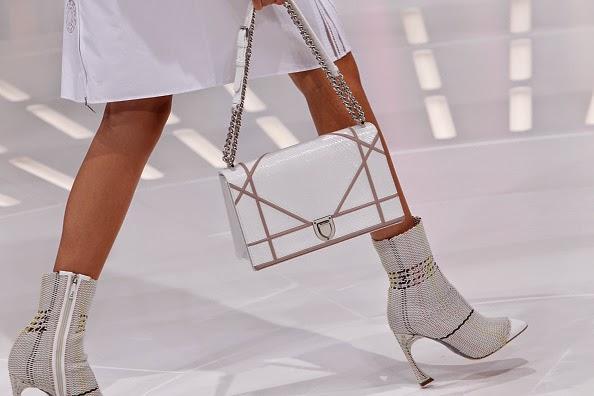 Botas meias da Dior