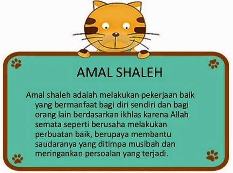 amal shaleh menurut islam