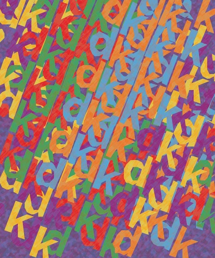 Various Colours In Rhythm