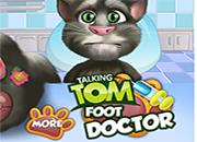 Talking Tom Foot Doctor
