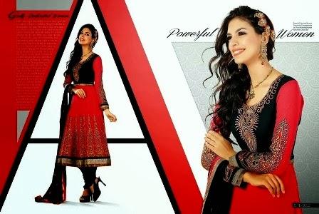 Red-&-Black-Anarkali-Suits