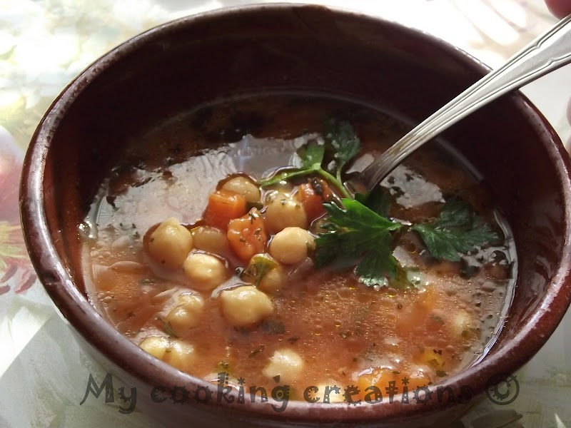 Zuppa di ceci * Супа от нахут