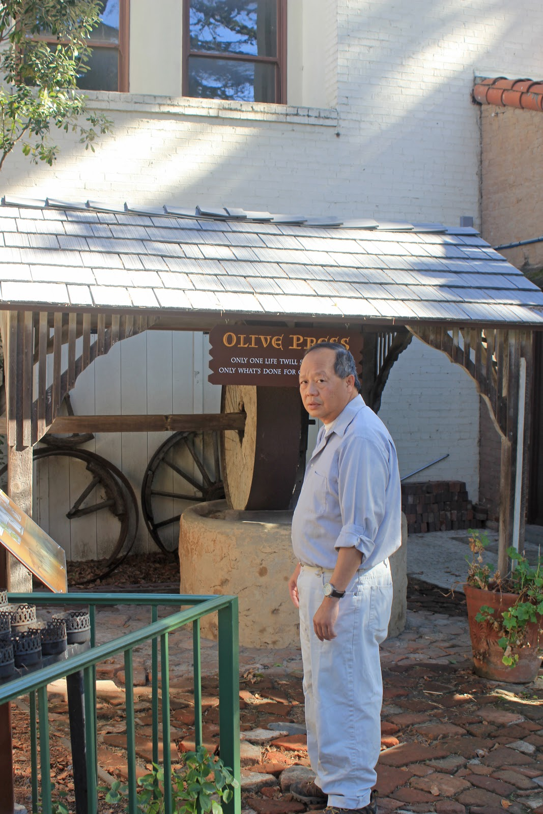 Western Sojourns Travels With Camissonia Mission San Buenaventura Ventura Ventura County Ca