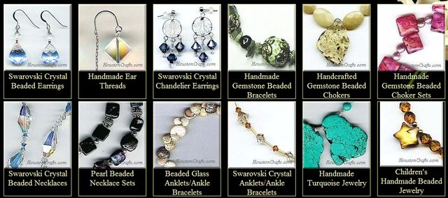 Handmade Beaded Jewelry by HoustonCrafts.Com