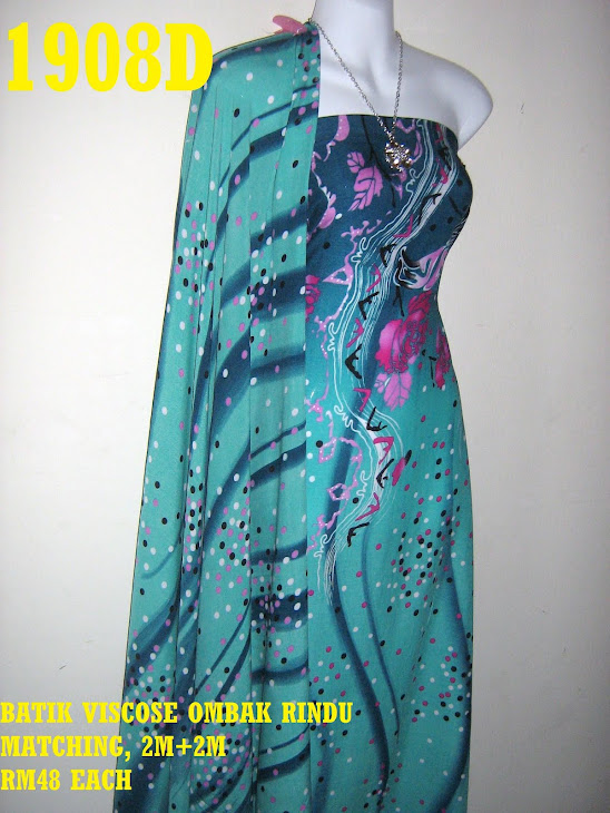 BVM 1908D: BATIK VISCOSE OMBAK RINDU MATCHING, EXCLUSIVE DESIGN, 2M+2M