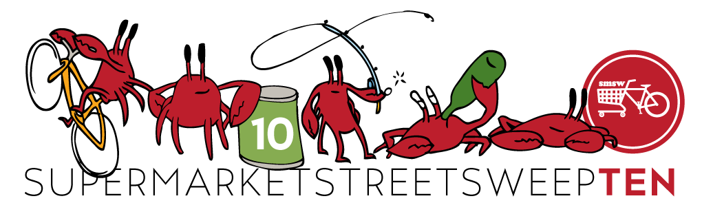 The 10th Annual Supermarket Street Sweep!