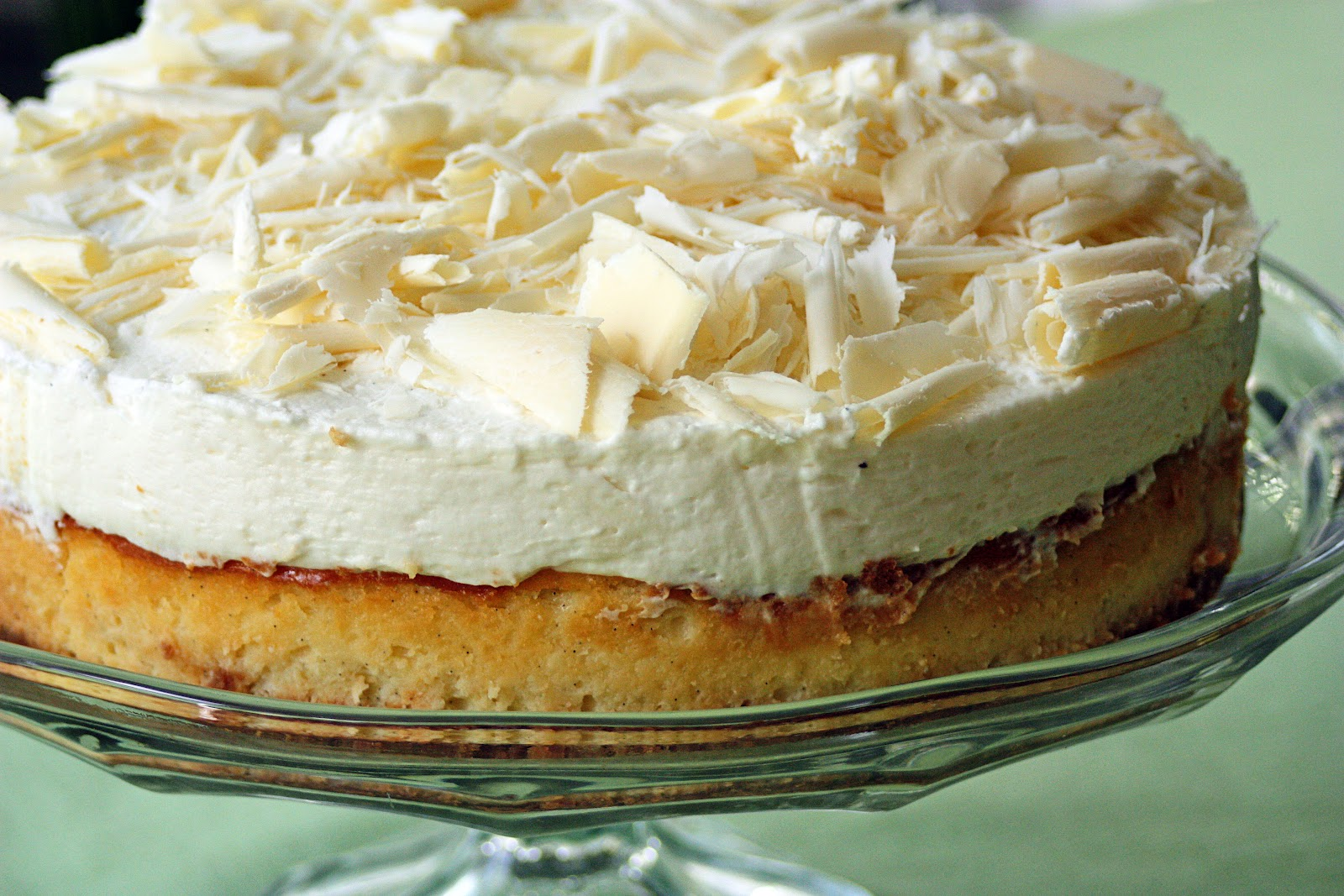 Just a Spoonful of: White Chocolate Vanilla Bean Cheesecake