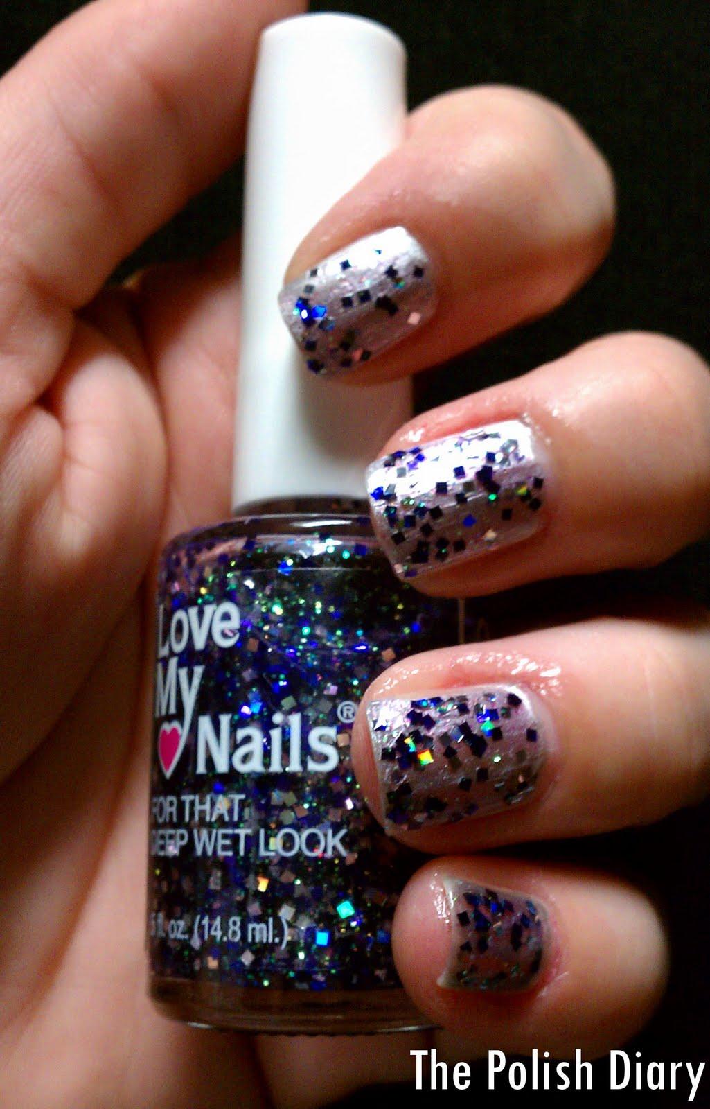 The Polish Diary: Love My Nails Glitter