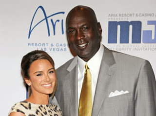 Michael Jordan and wife Yvette Prieto