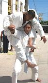 Exhibición de artes marciales.. 2012