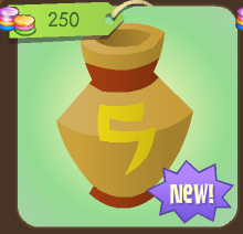 Red Painted Pot Animal Jam