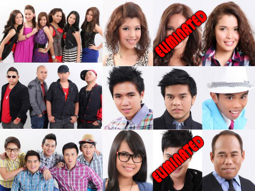 X-Factor Philippines third elimination night