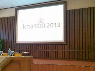 Seminar nasional KNASTIK Yogyakarta 2013