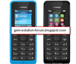 Nokia 105 RM-908 mcu ppm cnt Flash File Download