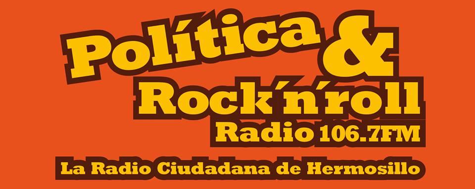 Todos los Miércoles a las 10 p.m. por Política y RocknRoll Radio 106.7 F.M. Click en LOGO (abajito)