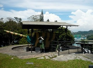 Fort Siloso at Sentosa