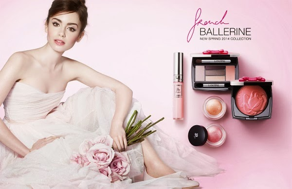 Makeup Review, Swatches: Lancôme Spring 2014 French Ballerine Collection! Rock The Ballerina Look With Peach, Pink, Purple Eyeshadows, Lip Glosses, Liners