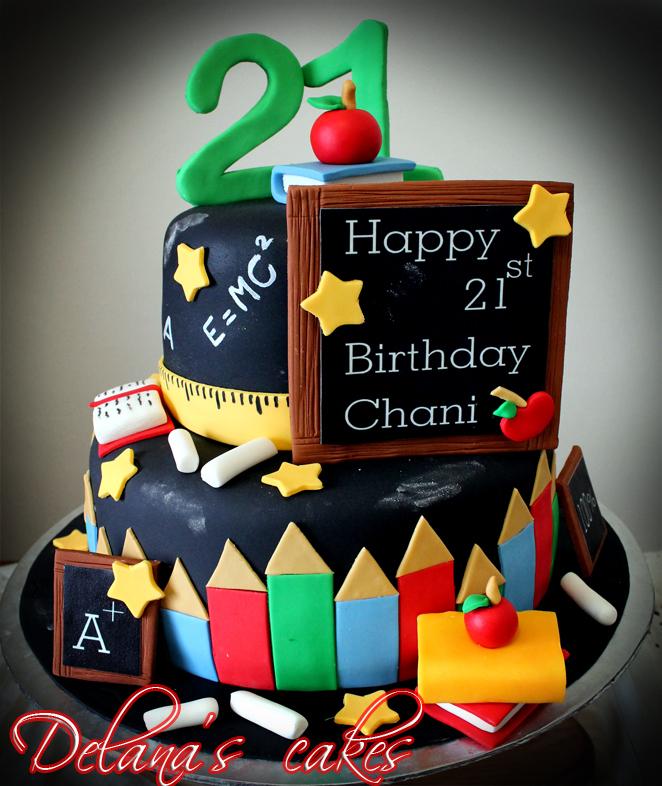 Delana S Cakes Teachers Pet Cake