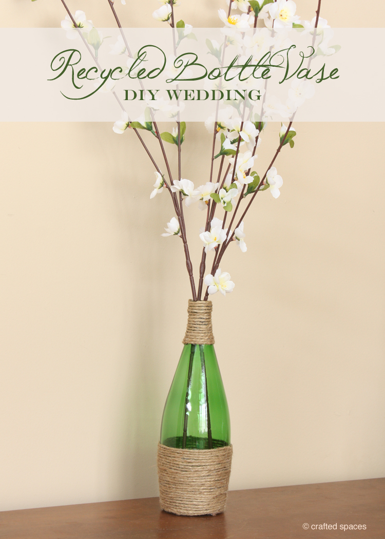 Crafted spaces recycled glass bottle vase in the past i have done bridal consulting and coordinating services although i really loved helping couples with their weddings i dont want to do full reviewsmspy