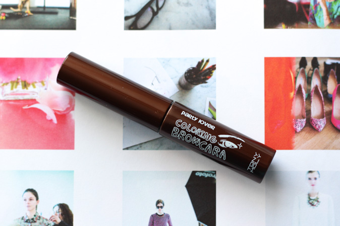 tony moly party lover coloring browcara brow mascara in light brown