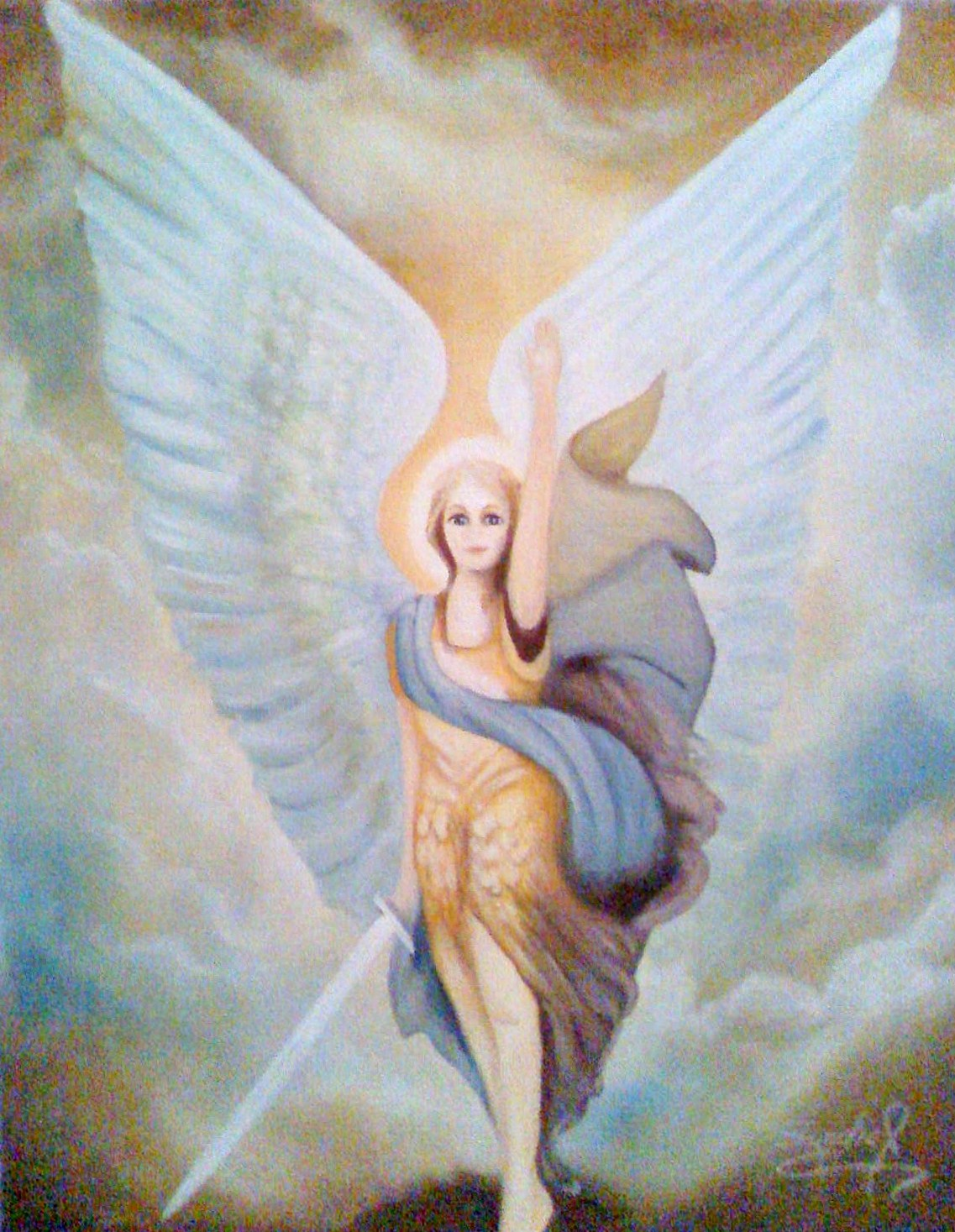ANGELES ARCANGELES HADAS: Los Colores y los Ángeles
