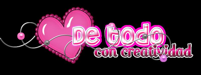 DE TODO CON CREATIVIDAD