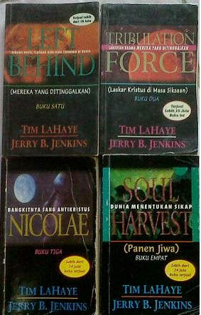 Novel Left Behind, Tribulation Force, Nicolae, Soul Harvest Tim Lahaye