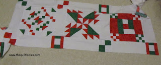Book of Holiday Quilt Patterns in Red and Green