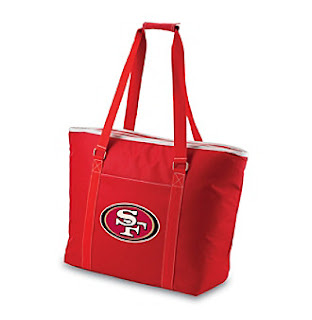 Picnic Time San Francisco 49ers NFL Tahoe Cooler