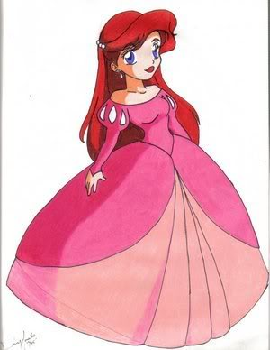 Ariel jupta by disney princess wallpaper